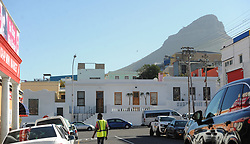 South Africa - Cape Town - 21 October 2020 - A sight that has never been seen in modern-day Cape Town. Houses in Bo-Kaap that normally shines with colour, has been painted white. Photographer: Armand Hough/African News Agency(ANA)
