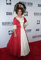 Joy Villa at Death Of A Nation Los Angeles Premiere held at Regal L.A. Live: A Barco Innovation Center on July 31, 2018 in Los Angeles, California, United States (Photo by Jc Olivera for Jade Umbrella)