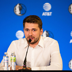 20210810: SLO, Events - Dallas Maverics Press Conference with Luka Doncic