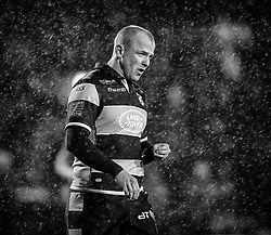 Dan Fish of Cardiff Blues<br /> <br /> Photographer Simon King/Replay Images<br /> <br /> Guinness PRO14 Round 14 - Cardiff Blues v Connacht - Saturday 26th January 2019 - Cardiff Arms Park - Cardiff<br /> <br /> World Copyright © Replay Images . All rights reserved. info@replayimages.co.uk - http://replayimages.co.uk