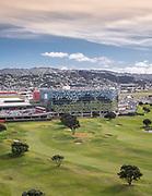 Wellington Airport Car Park and Bus station.