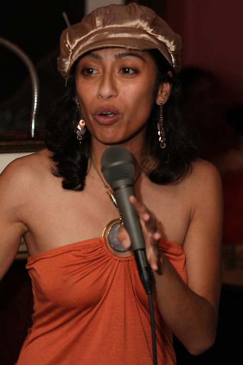 South Asian comic Rasika Mathur performs at the annual convention of the South Asian Journalists' Association