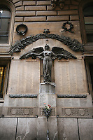 Angel monument in Rome Italy