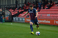 Connor Wood during the EFL Sky Bet League 2 match between Salford City and Bradford City at the Peninsula Stadium, Salford, United Kingdom on 21 November 2020.