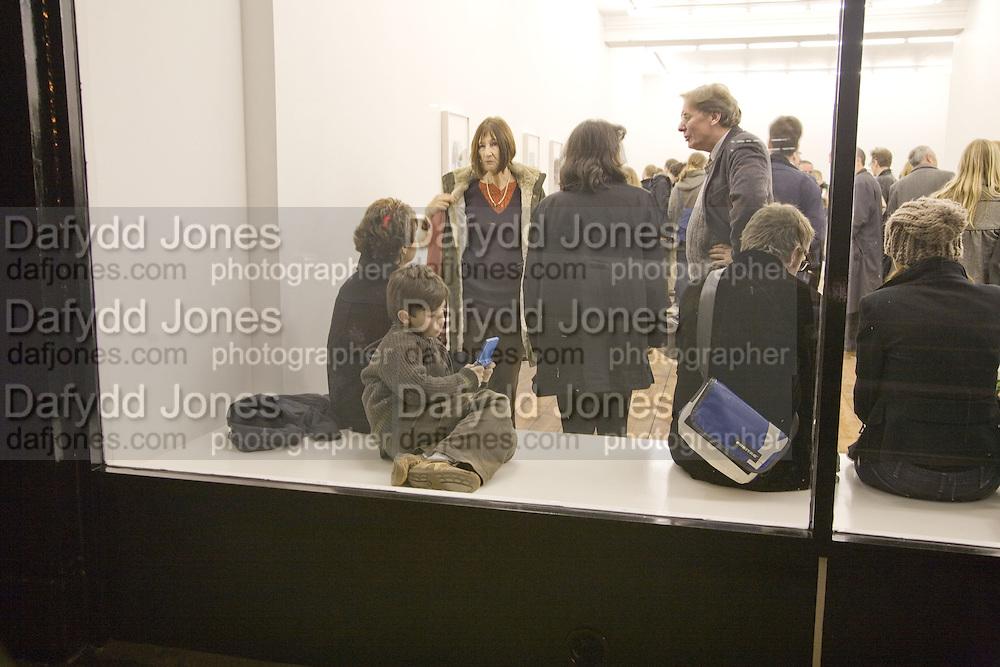 BEN STEZAKER, Opening of a new exhibition of collages by John Stezaker at The Approach W1. 74 Mortimer st. and afterwards at the House of St-Barnabas-in-Soho. Greek st. London. 21 November 2007. -DO NOT ARCHIVE-© Copyright Photograph by Dafydd Jones. 248 Clapham Rd. London SW9 0PZ. Tel 0207 820 0771. www.dafjones.com.