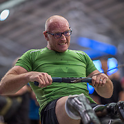 Gavin Foulsham MALE HEAVYWEIGHT Para 20+ 2K Race #4  09:15am<br /> <br /> <br /> www.rowingcelebration.com Competing on Concept 2 ergometers at the 2018 NZ Indoor Rowing Championships. Avanti Drome, Cambridge,  Saturday 24 November 2018 © Copyright photo Steve McArthur / @RowingCelebration