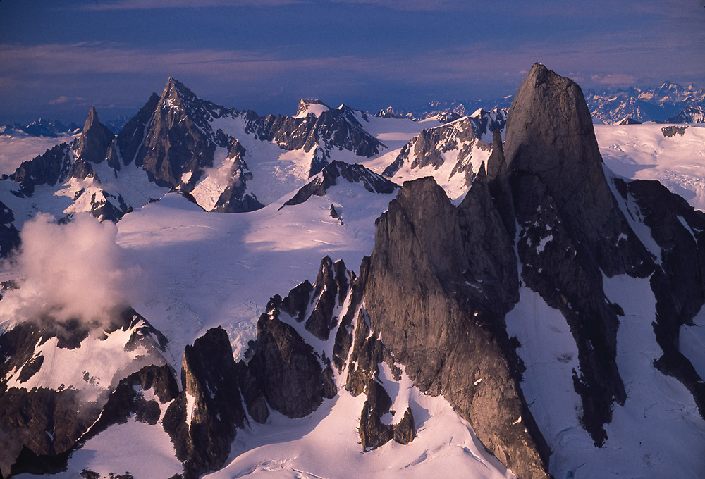 The Thumb and Castle Mountain, Stikine-LeConte Wilderness, Tongass National Forest, Alaska, USA