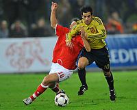 Pirmin Schwegler (SUI) gegen Jose Jurado (ESP) © Andy Mueller/EQ Images