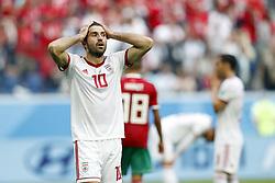 (l-r) Sardar Azmoun of IR Iran
