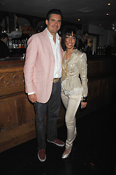 EDWARD TAYLOR and GEETA DUTT at a party to launch the new upstairs area of Mamilanji, 107 Kings Road, London SW3 on 19th April 2007.<br /> <br /> NON EXCLUSIVE - WORLD RIGHTS