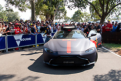 March 16, 2019 - Albert Park, VIC, U.S. - ALBERT PARK, VIC - MARCH 16: Aston Martin Red Bull Racing driver Pierre Gasly arrives at The Australian Formula One Grand Prix on March 16, 2019, at The Melbourne Grand Prix Circuit in Albert Park, Australia. (Photo by Speed Media/Icon Sportswire) (Credit Image: © Steven Markham/Icon SMI via ZUMA Press)