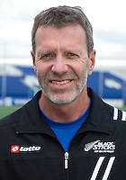 DEN HAAG - Nieuw Zeeland coach (m) Colin Batch . World Cup Hockey 2014. COPYRIGHT KOEN SUYK