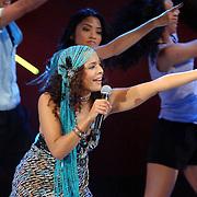 NLD/Hilversum/20061230 - 1e Live uitzending X-Factor 2006, deelneemster Melanie