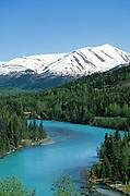 Alaska, Kenai Peninsula, Kenai River.