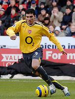 Photo: Glyn Thomas.<br />Charlton Athletic v Arsenal. The Barclays Premiership.<br />26/12/2005.<br /> Arsenal's Jose Antonio Reyes.
