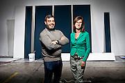 Cesare Cantù e Ausilia Cortinovis, Standgreen.