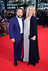 Stephen Graham and Hannah Walters attending the Closing Gala and International premiere of The Irishman, held as part of the BFI London Film Festival 2019, London.