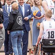 NLD/Amersfoort/20190427 - Koningsdag Amersfoort 2019, Koning Willem Alexander en Prinses Amalia