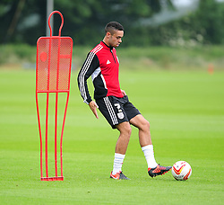 Bristol City's Derrick Williams - Photo mandatory by-line: Dougie Allward/JMP - Tel: Mobile: 07966 386802 28/06/2013 - SPORT - FOOTBALL - Bristol -  Bristol City - Pre Season Training - Npower League One