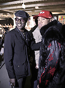 """Rick Davey and  at """" The Brooklyn Underground Fashion Rocks! """" BK Fashion Week(end)  held at Northside Pier at Kent Avenue in Williamburg, Brooklyn on March 22, 2008"""