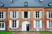The house of Perrier Jouet Champagne in the Avenue de champagne in Epernay in the Champagne-Ardenne region of France