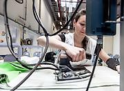 Lyon, Atelier Hermès, steaming ties