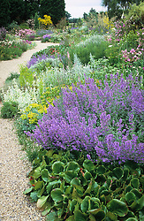 The gravel garden in summer
