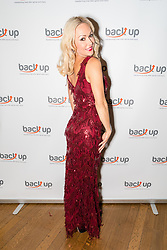 © Licensed to London News Pictures. 04/05/2017. LONDON, UK.  KRISTINA RIHANOFF attends The City Dinner fundraising event for the charity, 'Back Up Trust' at the Marchant Taylor's Hall. 'Back Up Trust' work to inspire independence in people affected by spinal cord injury and help them get the most from their lives, working with people of all ages, from young children to the elderly.  Photo credit: Vickie Flores/LNP