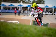 #911 (SHRIEVER Bethany) GBR at Round 2 of the 2020 UCI BMX Supercross World Cup in Shepparton, Australia.