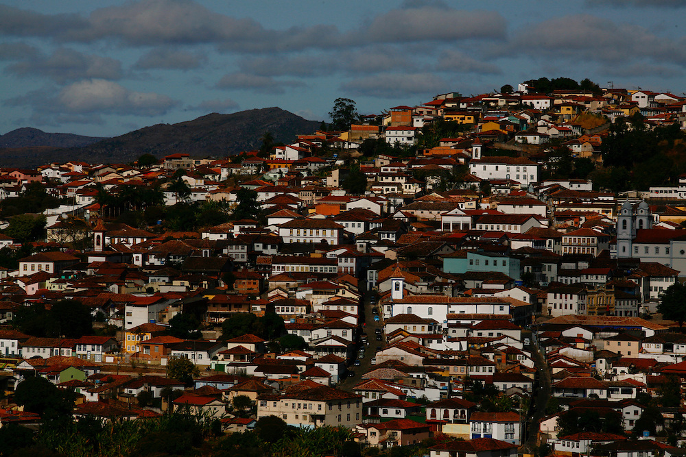 Diamantina_MG, Brasil...Vista panoramica de Diamantina, Minas Gerais...Panoramic view of Diamantina, Minas Gerais...Foto: LEO DRUMOND / NITRO