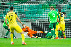 Rok Vodisek of NK Olimpija during football match between NK Olimpija Ljubljana and NK Kalcer Radomlje in Round #29 of Prva liga Telekom Slovenije 2016/17, on April 17, 2017 in SRC Stozice, Ljubljana, Slovenia. Photo by Vid Ponikvar / Sportida