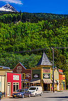Klondike Gold Rush National Historical Park, Skagway, Inside Passage, southeast Alaska USA.
