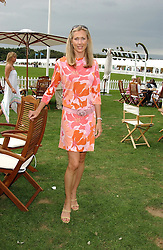 COUNTESS ALLESANDRO GUERRINI-MARALDI at the 2004 Cartier International polo day at Guards Polo Club, Windsor Great Park, Berkshire on 25th July 2004.