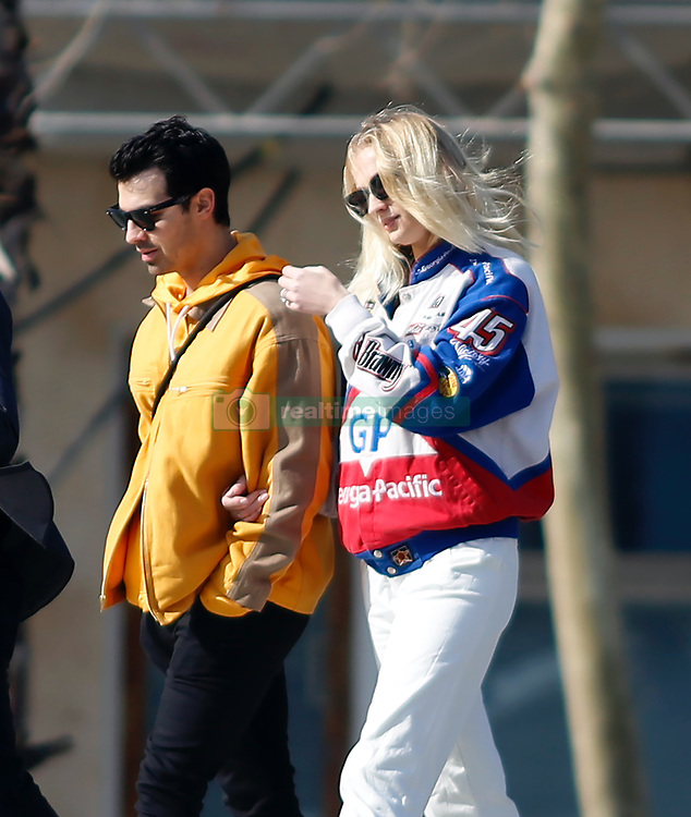 EXCLUSIVE: Joe Jonas and his wife Sophie Turner hold hands while they enjoy a sunny afternoon in Barcelona amid claims that they 'expect their first child this summer'. February 17, 2020 in Barcelona, Spain. 17 Feb 2020 Pictured: Joe Jonas and Sophie Turner. Photo credit: Elkin Cabarcas / MEGA TheMegaAgency.com +1 888 505 6342