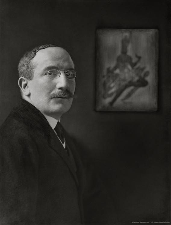 Leon Bakst, modernist painter, Russia, 1916