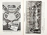 All Ireland Senior Hurling Championship Final,.07.09.1958, 09.07.1958, 7th September 1958,.Minor Galway v Limerick, .Senior Galway v Tipperary, Tipperary 4-09. Galway 2-05,..Advertisement, Club Orange, Club Lemon, Mineral Waters Distributors Ltd,..Tipperary,