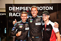 March 14, 2019 - Sebring, Etats Unis - 77 DEMPSEY PROTON RACING (DEU) PORSCHE 911 RSR GTE AM CHRISTIAN RIED (DEU) MATT CAMPBELL (AUS) JULIEN ANDLAUER (FRA) POLE SITTER GTE AM (Credit Image: © Panoramic via ZUMA Press)