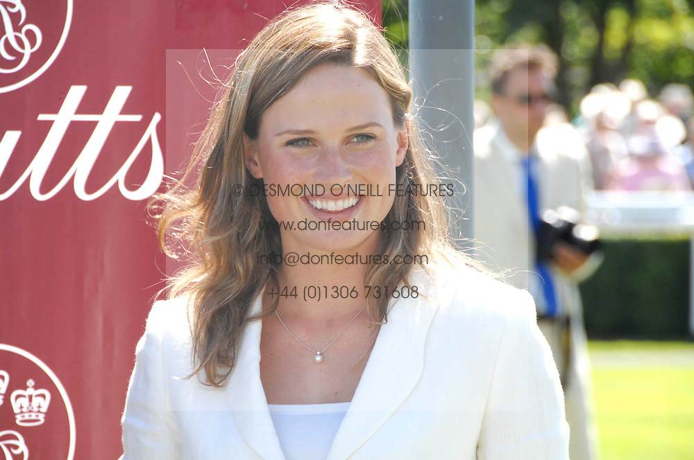 FRANCESCA CUMANI at the 4th day of the Glorious Goodwood racing festival 2007 held at Goodwood Racecourse, West Sussex on 3rd August 2007.<br />
