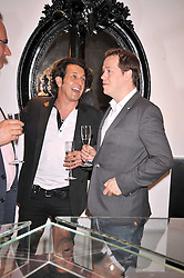 Left to right, STEPHEN WEBSTER and TOM PARKER-BOWLES at a party to celebrate the new Stephen Webster store on Mount Street, London W1 followed by a dinner at Maddox, Mill Street, London on 24th June 2009.