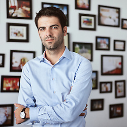 Paris, France. September 11, 2015. Nicolas Ferrary, CEO for Airbnb in France. Photo: Antoine Doyen