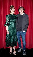 Imogen Poots and Jesse Eisenberg  at the Vivarium' film photocall, Curzon Soho, London, UK - 21 Feb 2020