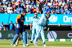 Jofra Archer of England - Mandatory by-line: Robbie Stephenson/JMP - 30/06/2019 - CRICKET - Edgbaston - Birmingham, England - England v India - ICC Cricket World Cup 2019 - Group Stage