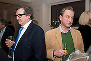 BRUCE PALLING; PHILIP MOULD, Bonhams Auction house hosts festive drinks to preview the first phase of the reconstruction of its Mayfair Headquarters - due for completion in 2013.<br /> Bonhams, 101 New Bond Street, London, 19 December 2011.