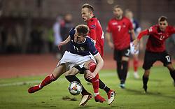 Scotland's Scott McTominay during the UEFA Nations League, Group C1 match at the Loro Borici Stadium, Shkoder