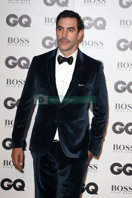 GQ Men of The Year Awards in London in Association with Hugo Boss at TateModern in London, UK. 05 Sep 2018 Pictured: Sacha Baron Cohen. Photo credit: Fred Duval/MEGA TheMegaAgency.com +1 888 505 6342