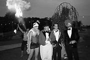 LADY VIOLET MANNERS; THE DUKE OF RUTLAND; THE MARQUESS OF GRANBY; DR. ROBIN HART, Lady Eliza Manners 18th birthday. By the Lake, Belvoir Castle, 29 August 2015.