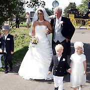 NLD/Laren/20070829 - Huwelijk Willibrord Frequin en Susanne Rastin, met bruidskinderen