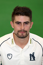 Will Rhodes during the media day at Edgbaston, Birmingham. PRESS ASSOCIATION Photo. Picture date: Thursday April 5, 2018. See PA story CRICKET Warwickshire