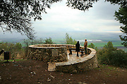 The Metzudat Koach Memorial (also Nabi Yusha fortress) commemorates 28 soldiers who died during the conquering of the strategically important fortress, in 1948. The fortress and observation point is located in the Upper Galilee, Near Naharia. The fortress was a key observation point in the Naftali heights, overlooking the Hula Valley, and used mostly in an attempt to block the Palestine/Lebanon border. Today, the fortress serves as an Israel Border Police base.