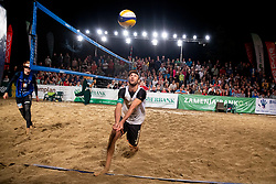 Danijel Pokersnik during Final of Beach Volleyball Slovenian National Championship 2018, on July 21, 2018 in Kranj, Slovenia. Photo by Urban Urbanc / Sportida